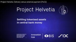 Project Helvetia: Delivery versus external payment (PoC2)